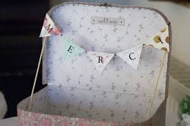 guirlande fanion mariage diy mariage la valise cadeau à guirlande de fanion merci