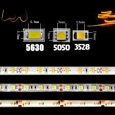 led strip 5050 5630 3528 dc 12v ip65 waterproof flexible light diy