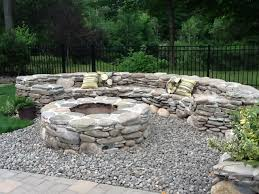 interesting decoration stone fire pit designs endearing fire pit
