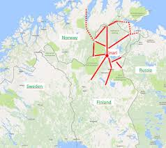 northern lights location map best place to see northern lights 5 reasons to choose inari r