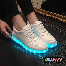 led lights shoes nike shoes led shining gluwy cool mania