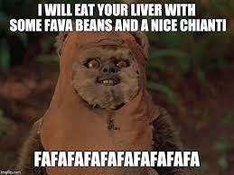 Ewok Meme - image tagged in demented ewok imgflip
