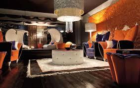 Orange Floor L Living Room Colorful Modern Unique Living Room Design Ideas With