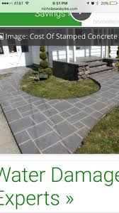 Stamped Concrete Patio Prices by Concrete Patio Cost Calgary Patio Outdoor Decoration