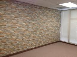 Interior Stone Walls Home Depot by The Wallpaper Company 56 Sq Ft Neutral Stone Wallpaper Wc1281976