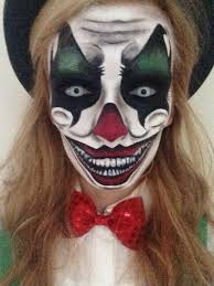 Ladies Clown Halloween Costumes 25 Female Clown Costume Ideas Scary Clown