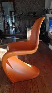 poltrona usata sedia poltrona panton replica usata a aurelio boccea kijiji