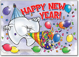 new years post cards dental new year s postcards smartpractice dental