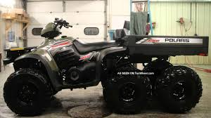 polaris sportsman 6x6 youtube