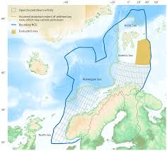 Norway World Map by Doubling The Resource Estimate For The Barents Sea Norwegian