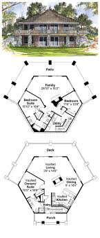 cool cabin plans 16 best octagon style house plans images on cool house