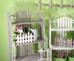 scaffale da esterno ideapiu scaffale scaffale per giardino porta vasi in ferro