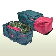 upright tree storage bag rolling artificial tree storage bag for