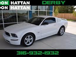 mustang wichita ks ford wichita 5 convertible white ford used cars in wichita