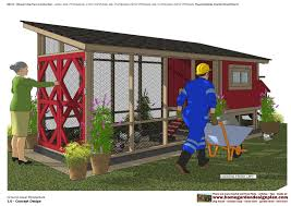 home garden plans ms101 chicken coop plans construction