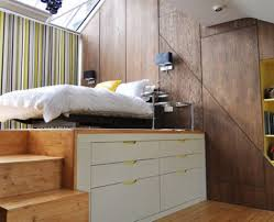 Small Bedroom Storage Ideas by Bedroom Stunning Small Bedroom Design With Storage Under Bed