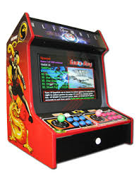 Tabletop Arcade Cabinet Dragonfly Amusement Arcade