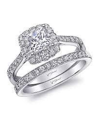 Princess Cut Diamond Wedding Rings by Princess Cut Engagement Rings