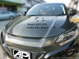 kereta mitsubishi airtrek honda hrv 2015 carbon fibre front bonnet carbon fibre bodykit