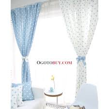 country polka dots cotton linen blend thermal blackout curtains