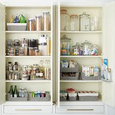 kitchen food storage cupboard pantry organization starter kit