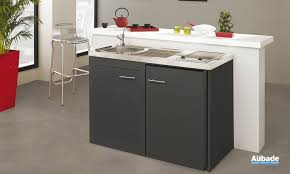 cuisine moderna petit meuble sous évier inox cuisine 2 portes 100 120 espace aubade