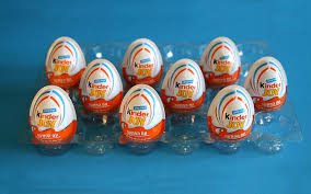 egg kinder 9 kinder eggs