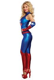 blue jumpsuit costume dreamgirl womens captain america jumpsuit costume upscalestripper com