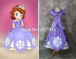 Halloween Costumes Sofia Aliexpress Buy Sofia Princess Dress Sofia Princess