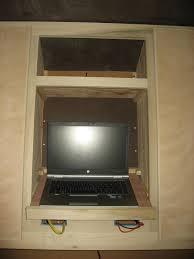 cabinet glass door hinges chuck u0027s teardrop build interior cabinets are complete