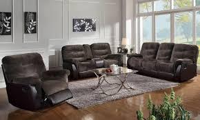 gray reclining sofa sofa fabric reclining sofa enrapture fabric dual power reclining