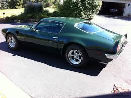 2014 Pontiac Trans Am Pontiac Trans Am Rare 4 Speed Brewster Green With Ac