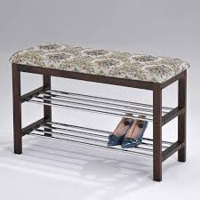 bench seat shoe rack image of ideas entryway shoe storage bench