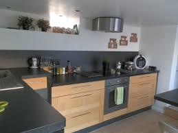 cuisine alu et bois cuisine bois et noir u2013 chaios com
