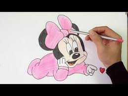 drawing draw mickey mouse step step kids
