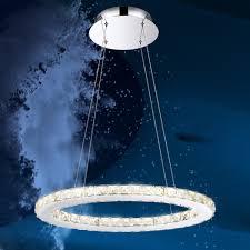 Wohnzimmer Lampe Ebay Lampe Rund Wohnkultur 24w Led Hange Leuchte Kristall Kronleuchter