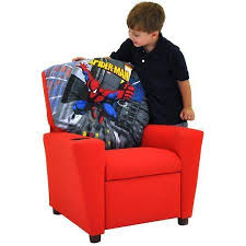 Youth Recliner Chairs Spiderman Kids Recliner Chair By Kidz World Ideas For The Kids