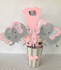 elephant baby shower centerpieces modern elephant baby shower home party theme ideas