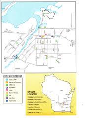 Wisconsin Lake Maps City Map Fox Lake Wi