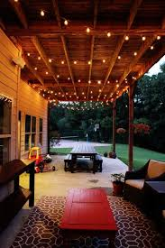 how to hang lights on house how to create the perfect outdoor space ceilings lights and backyard