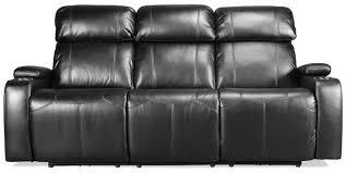 Power Recline Sofa Dynamo Power Reclining Sofa Black Levin Furniture