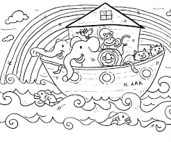 bible color simple christian coloring pages for toddlers