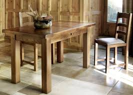 Saint Michel Small Kitchen Table With Drawer From Tannahill - Kitchen table with drawer