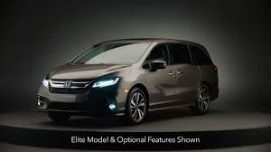 luxury minivan honda announces 2018 odyssey pricing is out to dominate u s