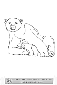 polar bear coloring pages horace u0027s fave polar bear printable