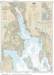 Map Of Ri 2013 Nautical Maps Of Rhode Island