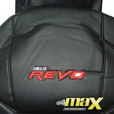 nissan almera leather seat toyota hilux revo single cab 15 on custom logo seat covers pvc