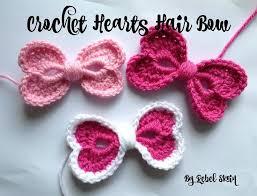 best 25 crochet hair bows ideas on crochet bow