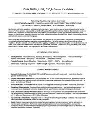 finance resume template