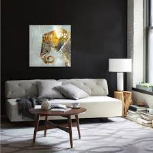 40 elephant decor ideas huge art for your walls elephant painting wall art with framed for living room